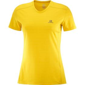 Salomon XA Camiseta Mujer, sulphur/heather